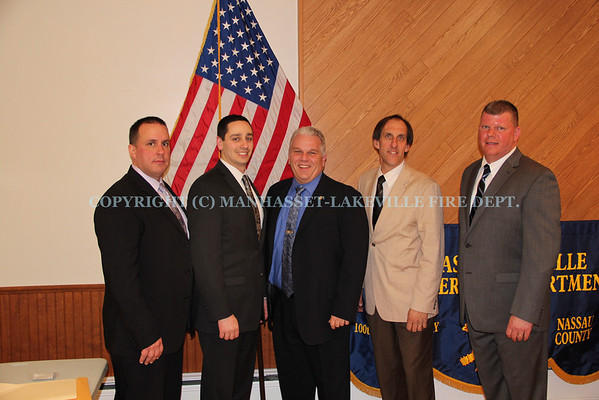 Manhasset-Lakeville F.D. Elects Michael Farrone New Chief of Department 2014-2015