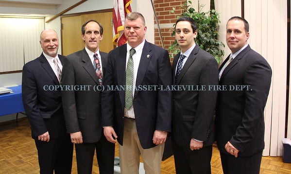 Manhasset-Lakeville F.D. Elects New Chief of Department Scott Garrigan