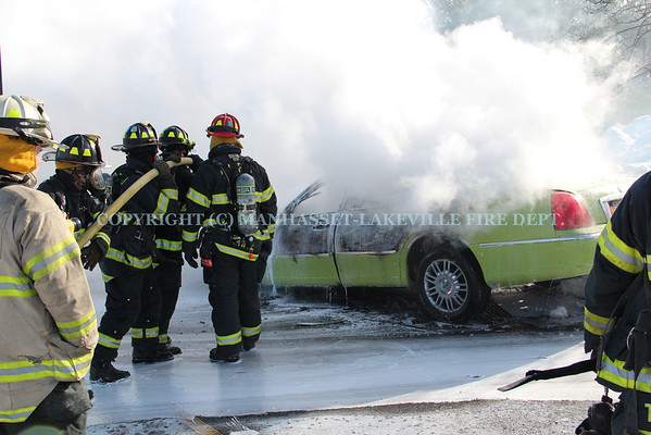 M-LFD Companies 5 & 4 Extinguish Working Car Fire In Zone 5