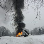 February 22, 2015 - Old Shelter Rock Road & Shelter Rock Road [Truck Fire]